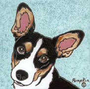 Rat Terrier Tile - D179